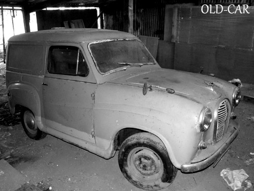 Austin A35 van from the 1960s